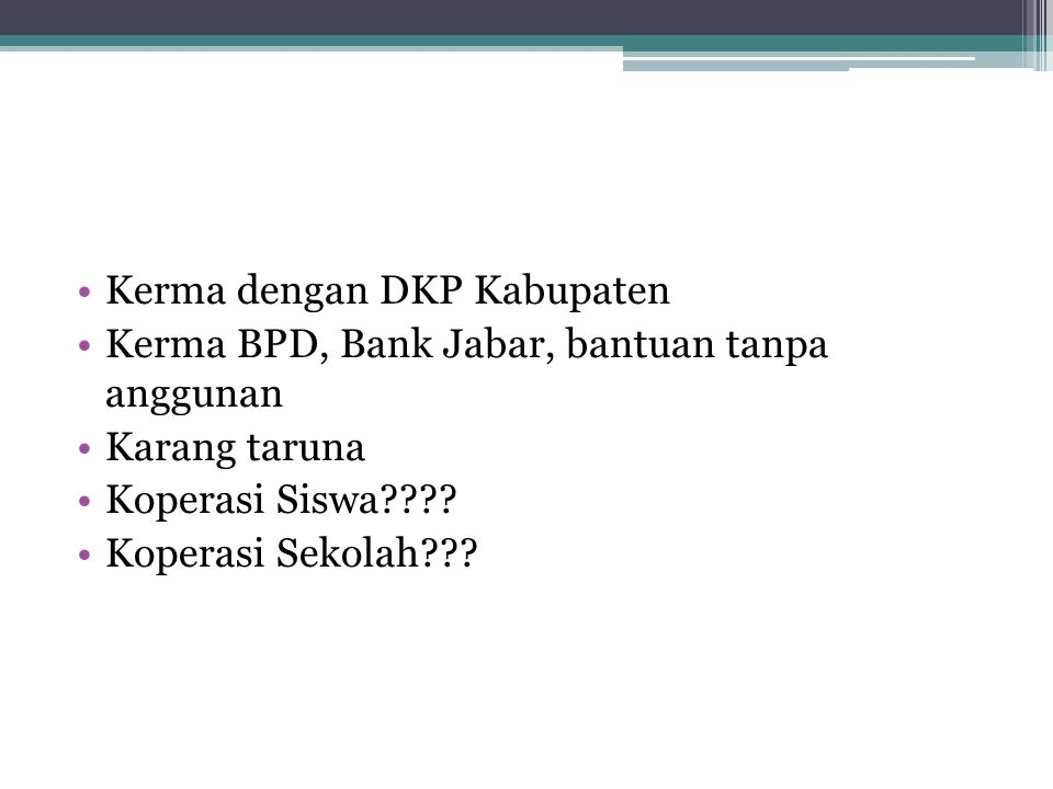 Kerma dengan DKP Kabupaten