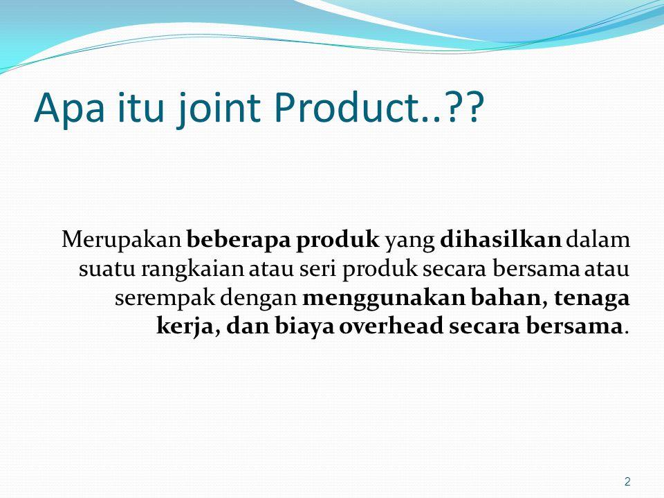 Apa itu joint Product..
