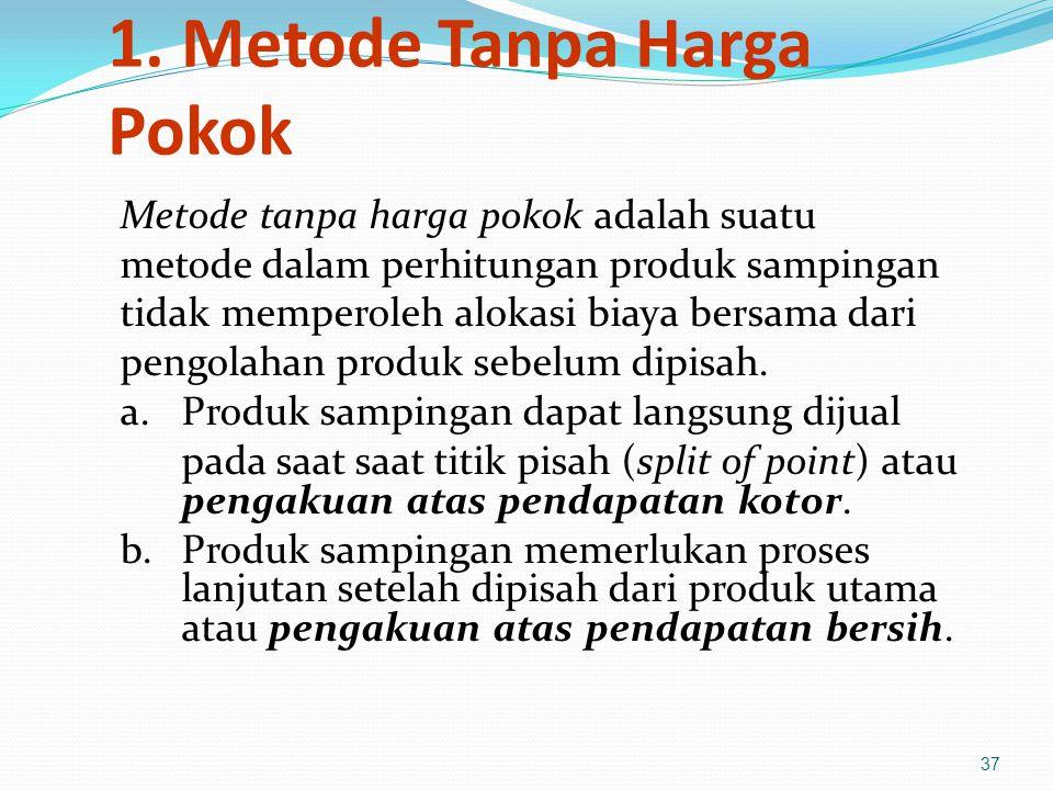 1. Metode Tanpa Harga Pokok