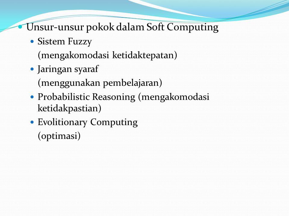 Unsur-unsur pokok dalam Soft Computing