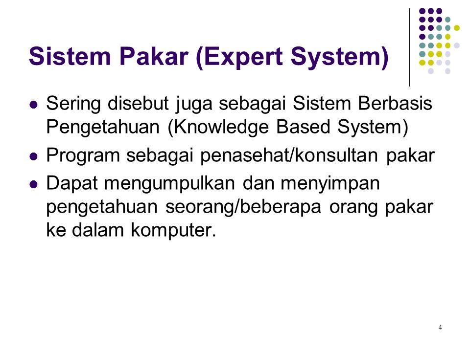 Sistem Pakar (Expert System)