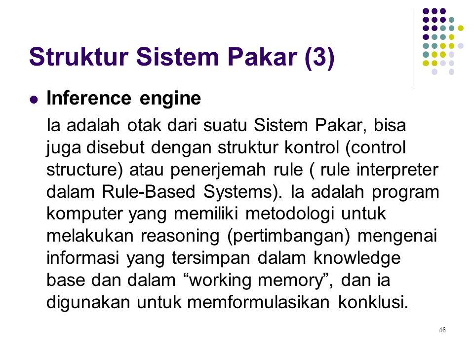 Struktur Sistem Pakar (3)