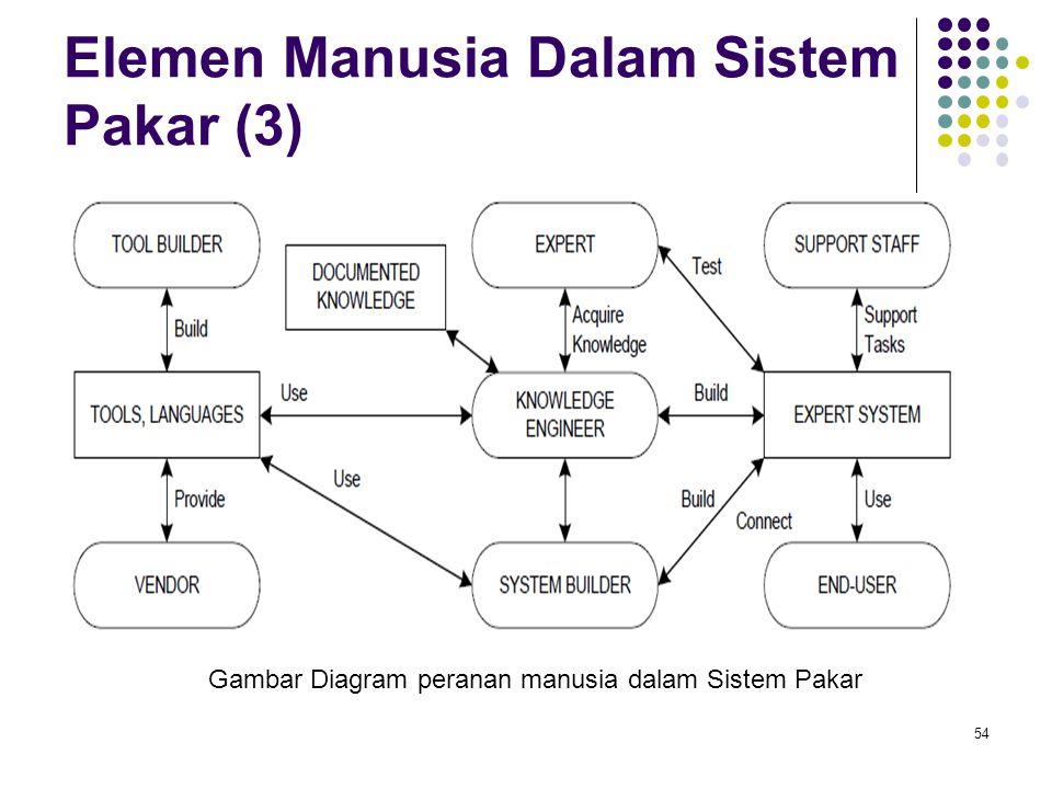 Elemen Manusia Dalam Sistem Pakar (3)