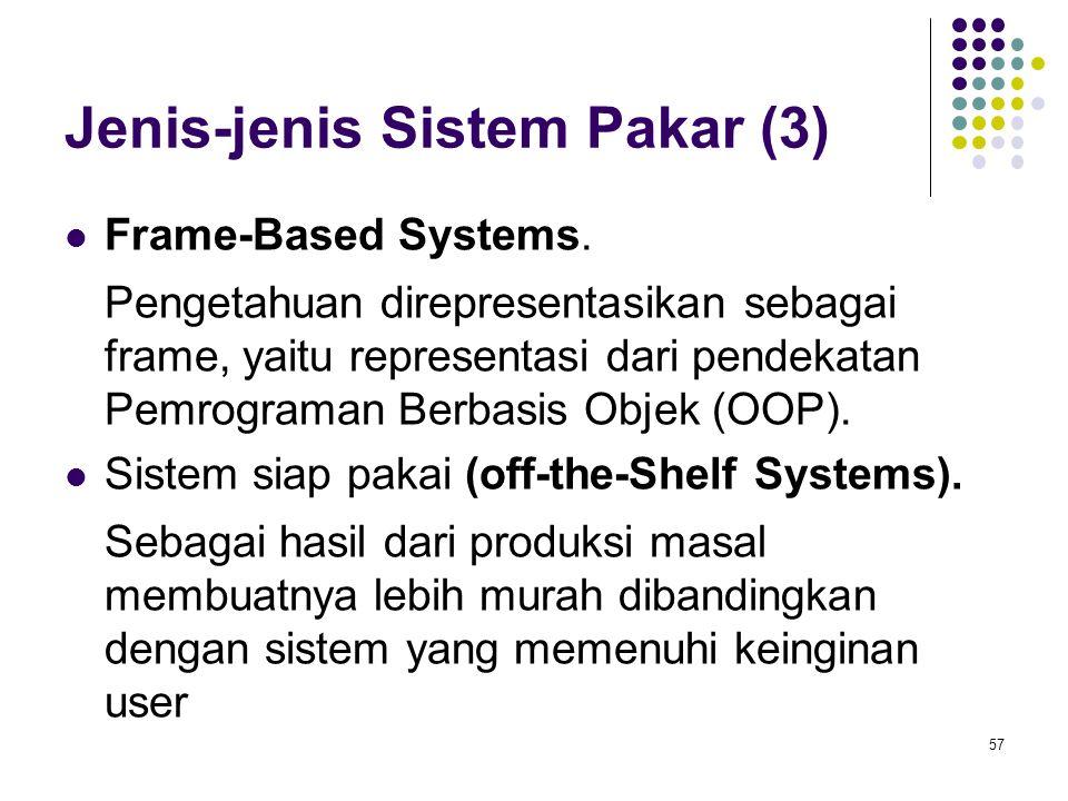 Jenis-jenis Sistem Pakar (3)