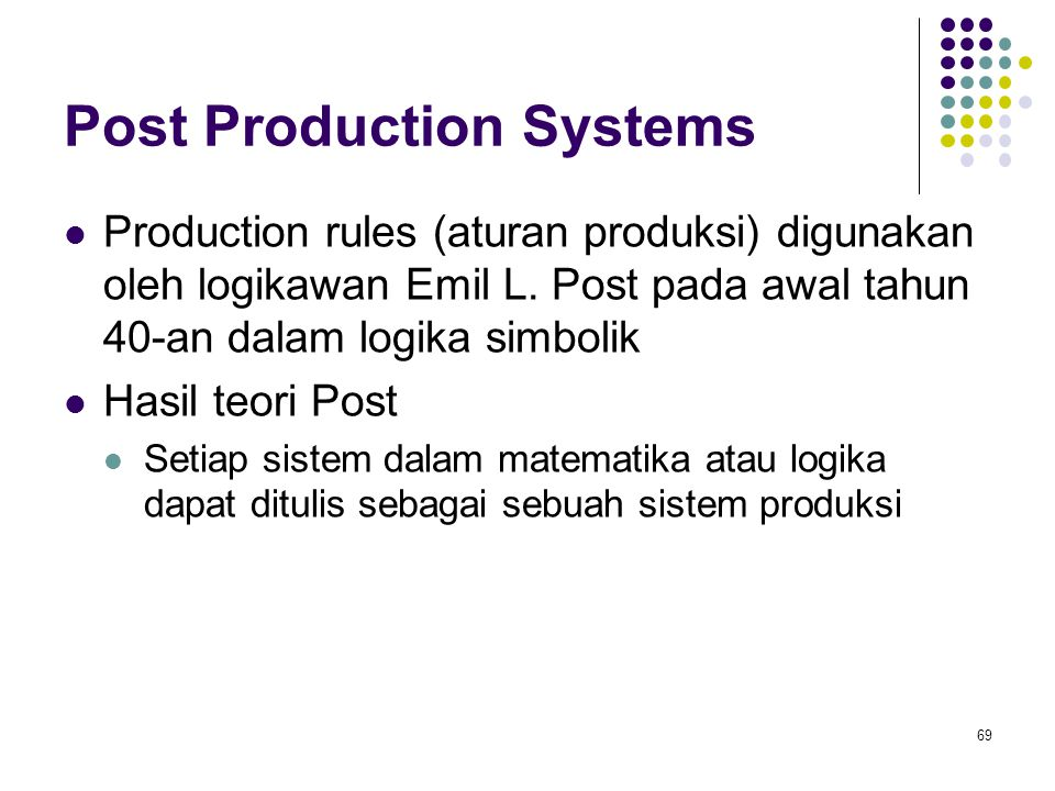 Post Production Systems