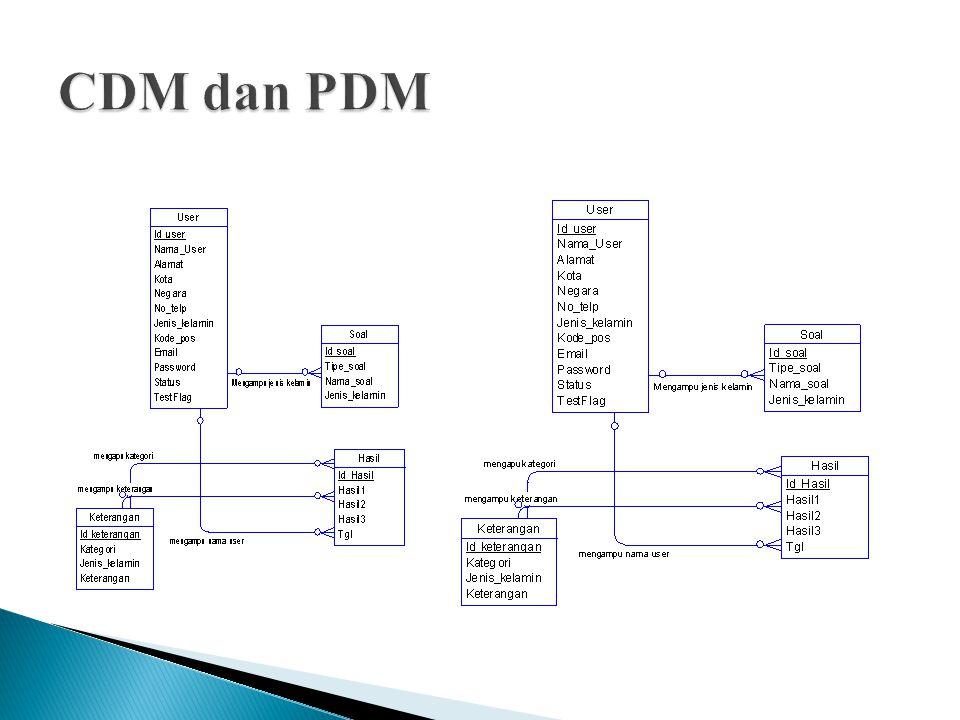 CDM dan PDM