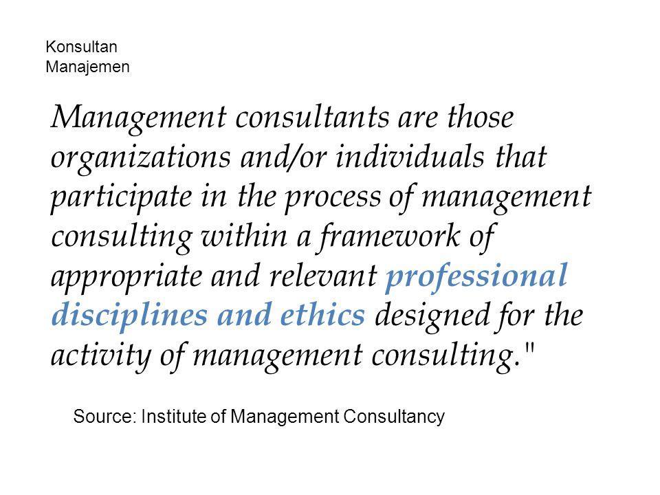 Konsultan Manajemen