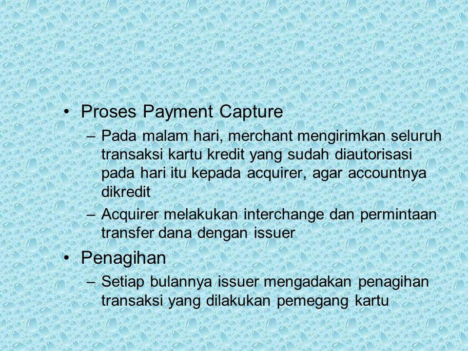 Proses Payment Capture
