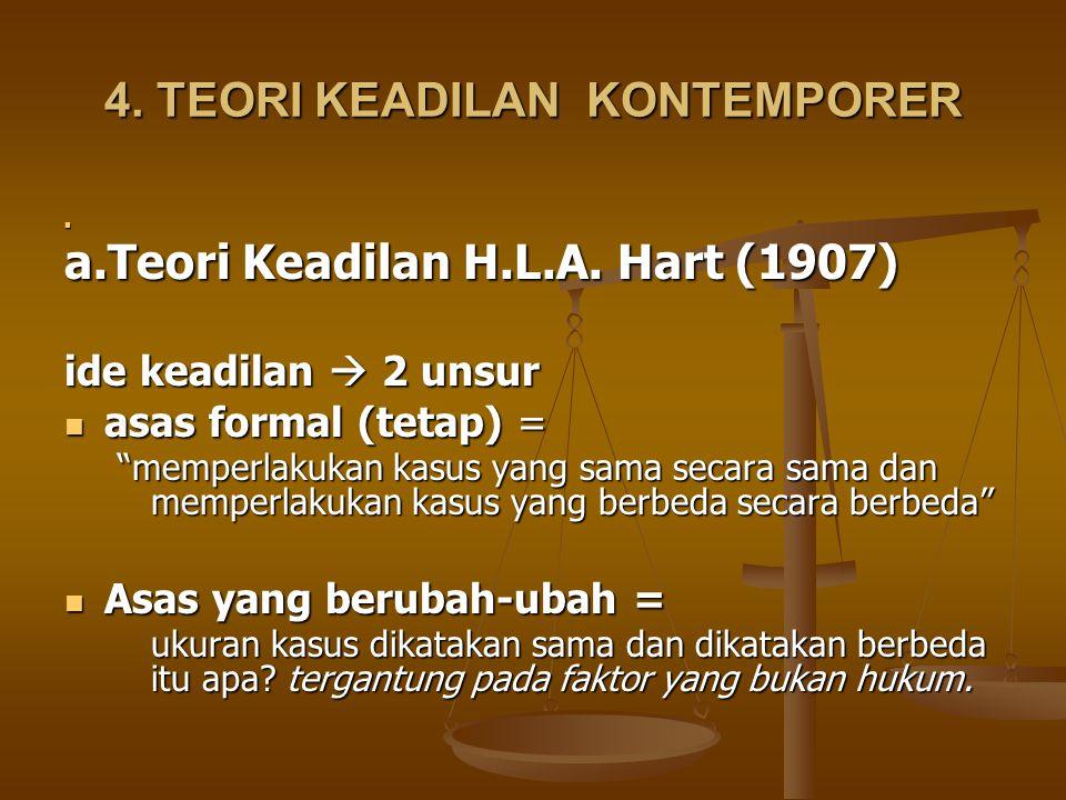 4. TEORI KEADILAN KONTEMPORER
