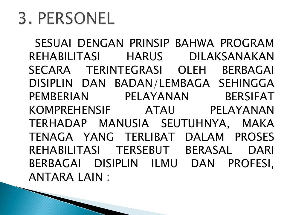 3. PERSONEL