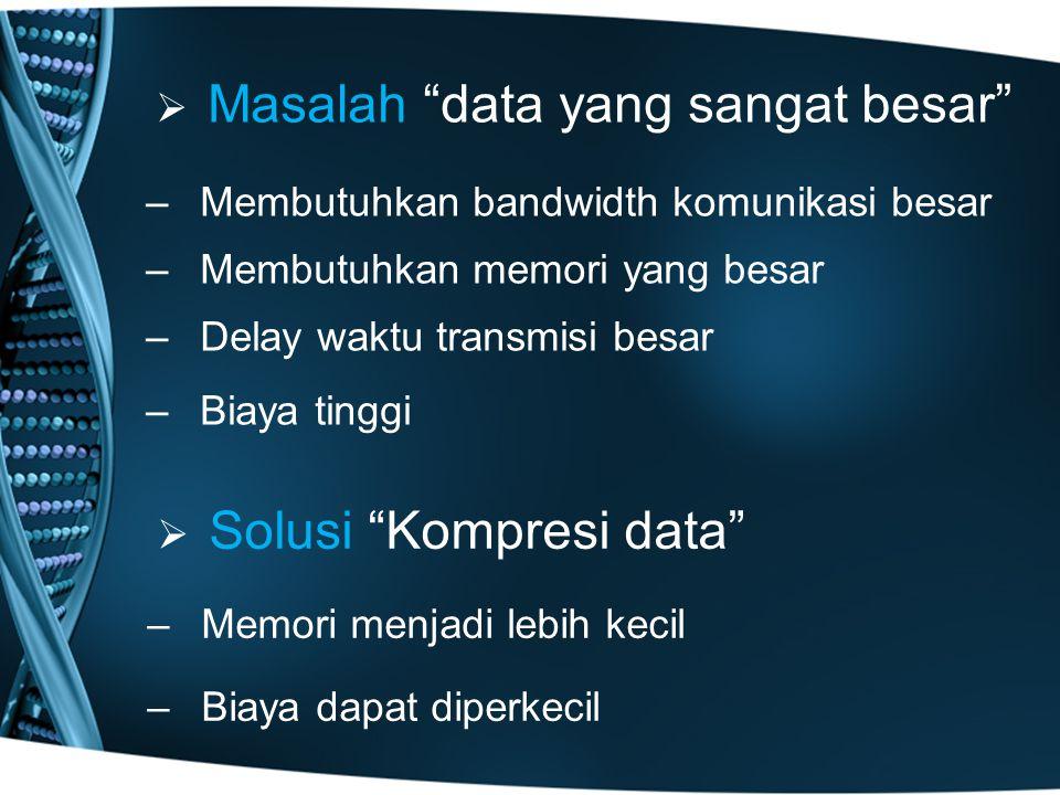 Masalah data yang sangat besar