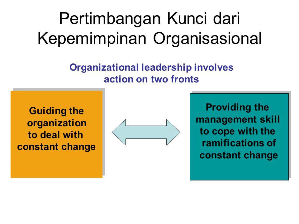 Pertimbangan Kunci dari Kepemimpinan Organisasional