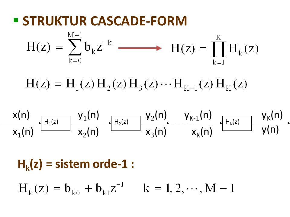 STRUKTUR CASCADE-FORM