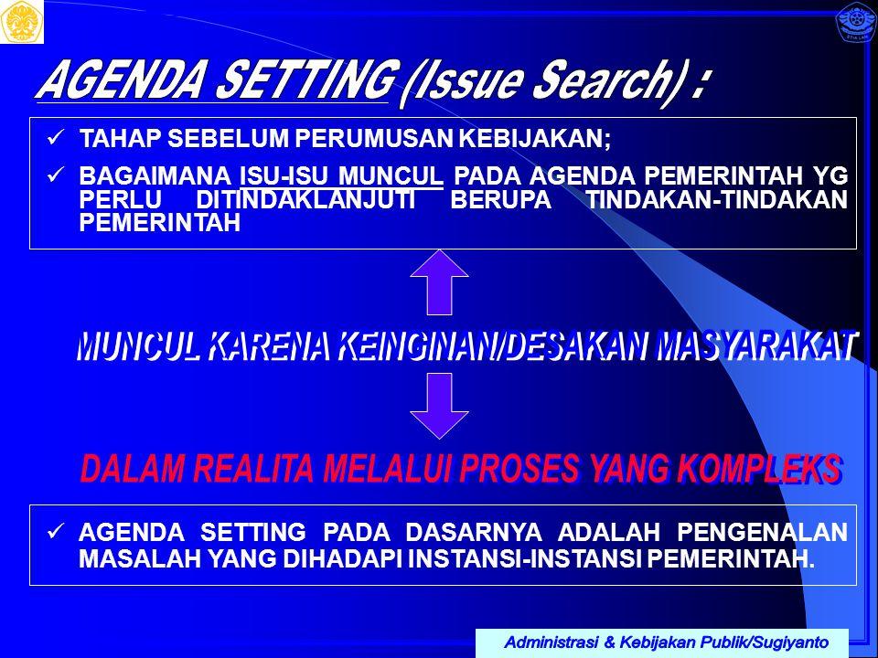Administrasi & Kebijakan Publik/Sugiyanto