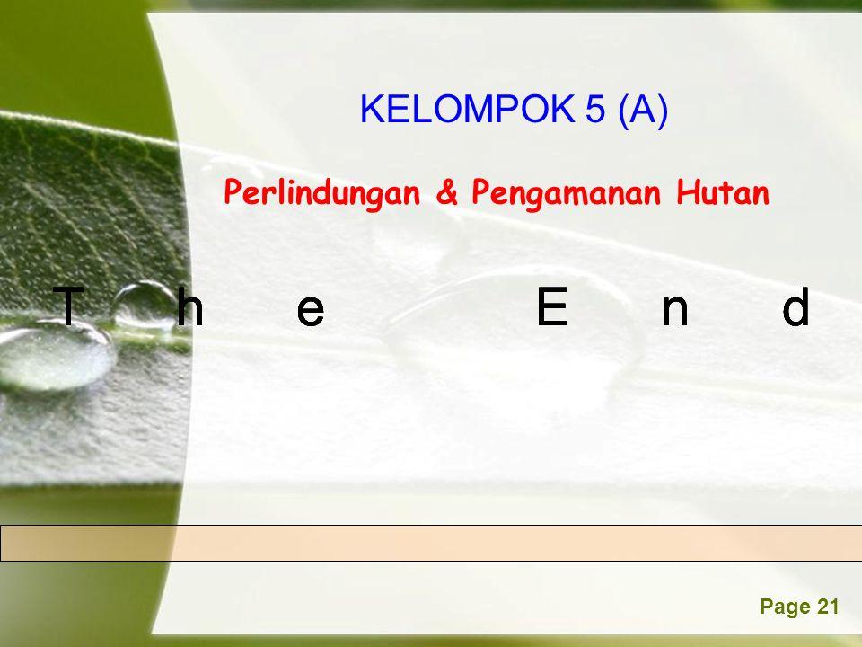 The End The End The End The End The End KELOMPOK 5 (A)