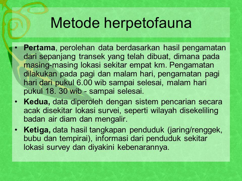 Metode herpetofauna