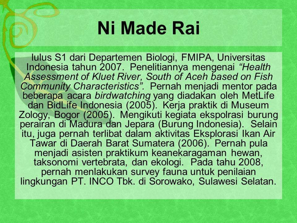 Ni Made Rai