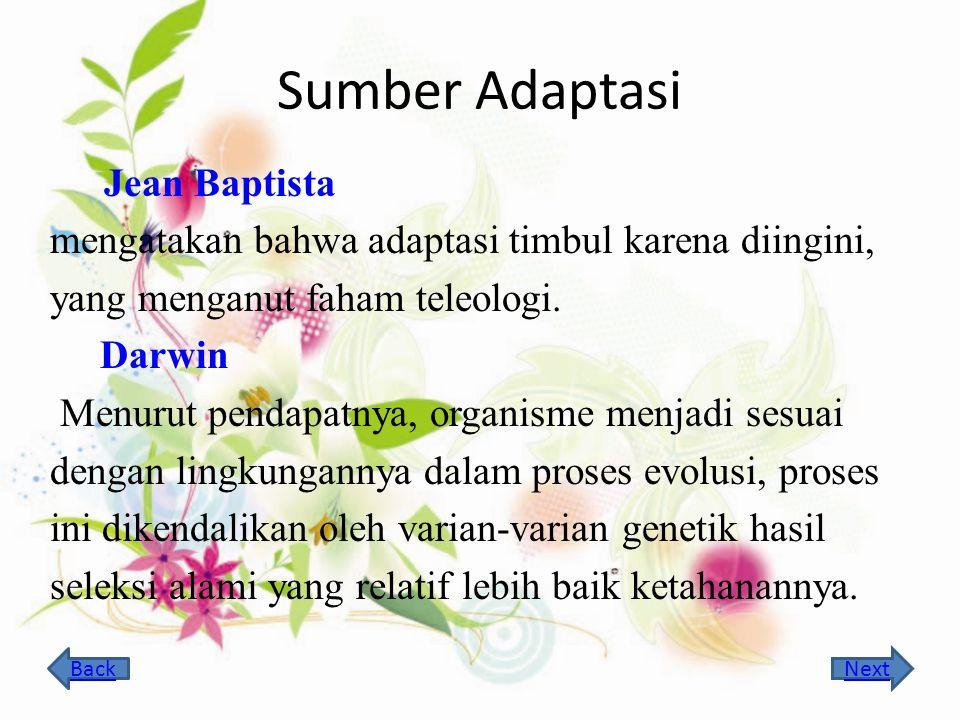 Sumber Adaptasi