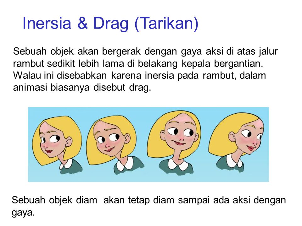 Inersia & Drag (Tarikan)