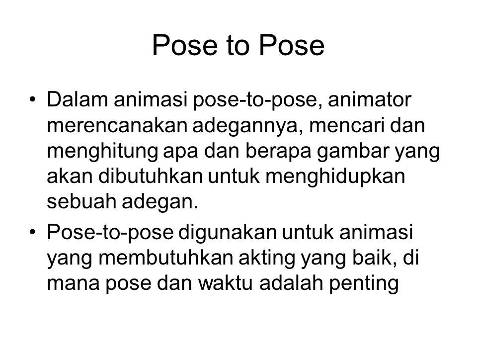 Pose to Pose