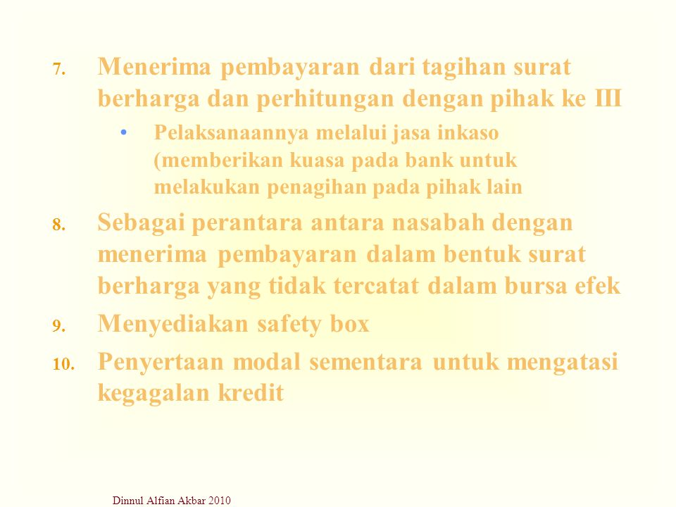 Menyediakan safety box