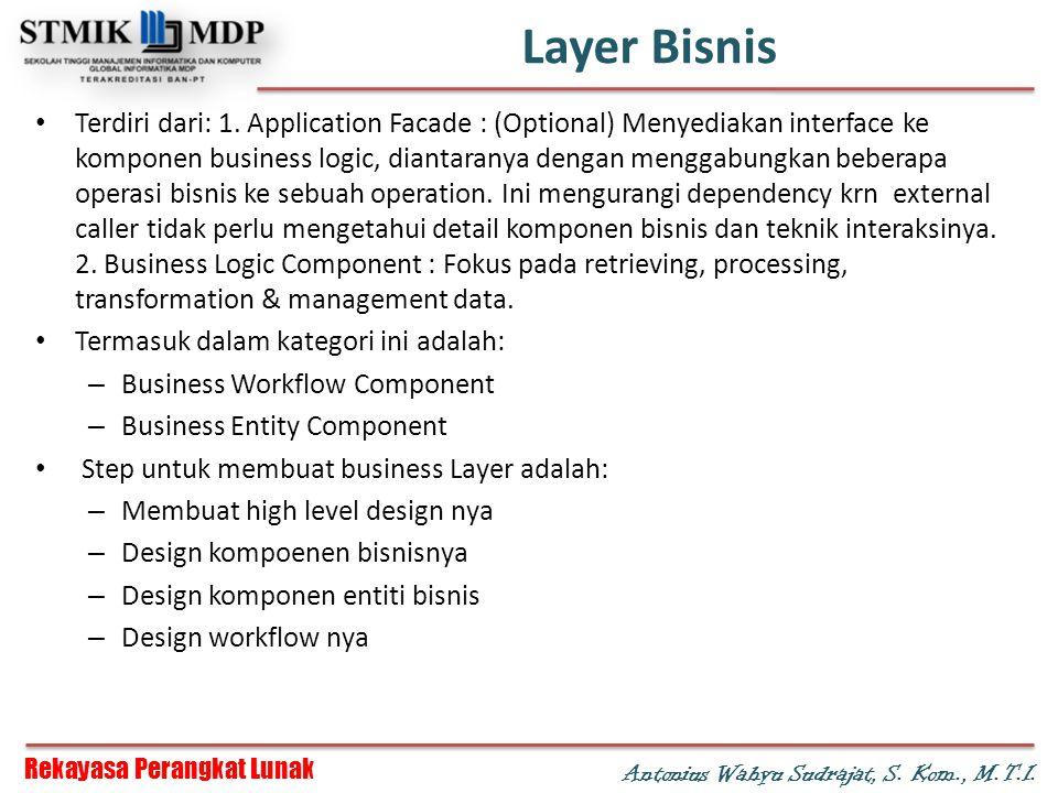 Layer Bisnis