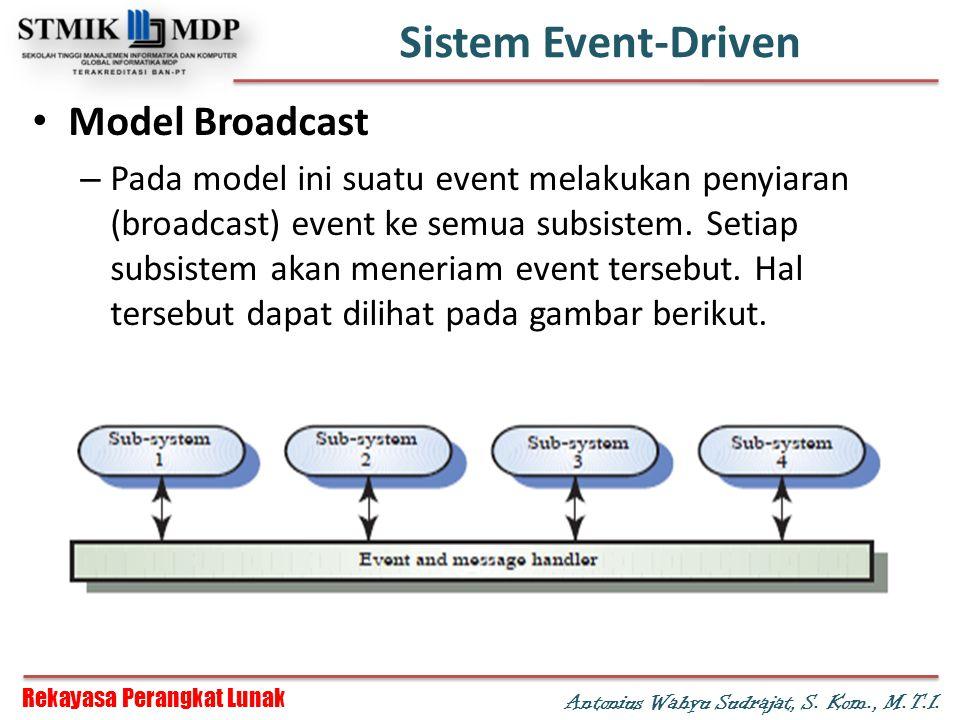 Sistem Event-Driven Model Broadcast
