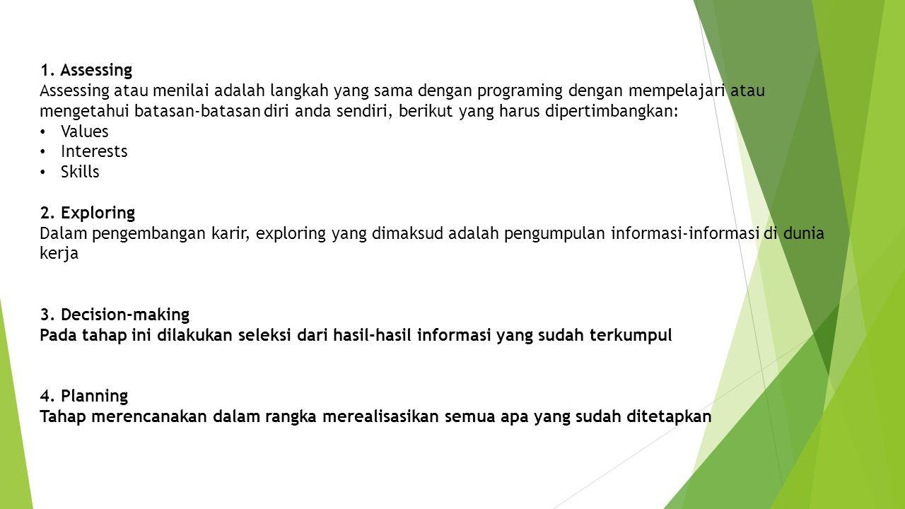 1. Assessing