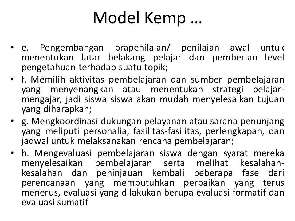 Model Kemp …