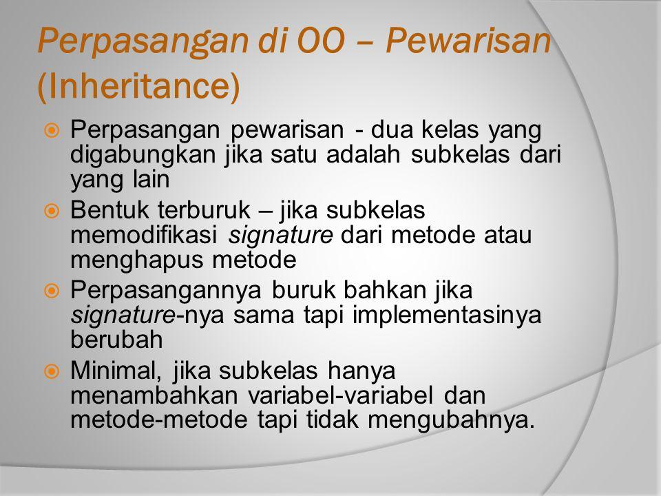 Perpasangan di OO – Pewarisan (Inheritance)