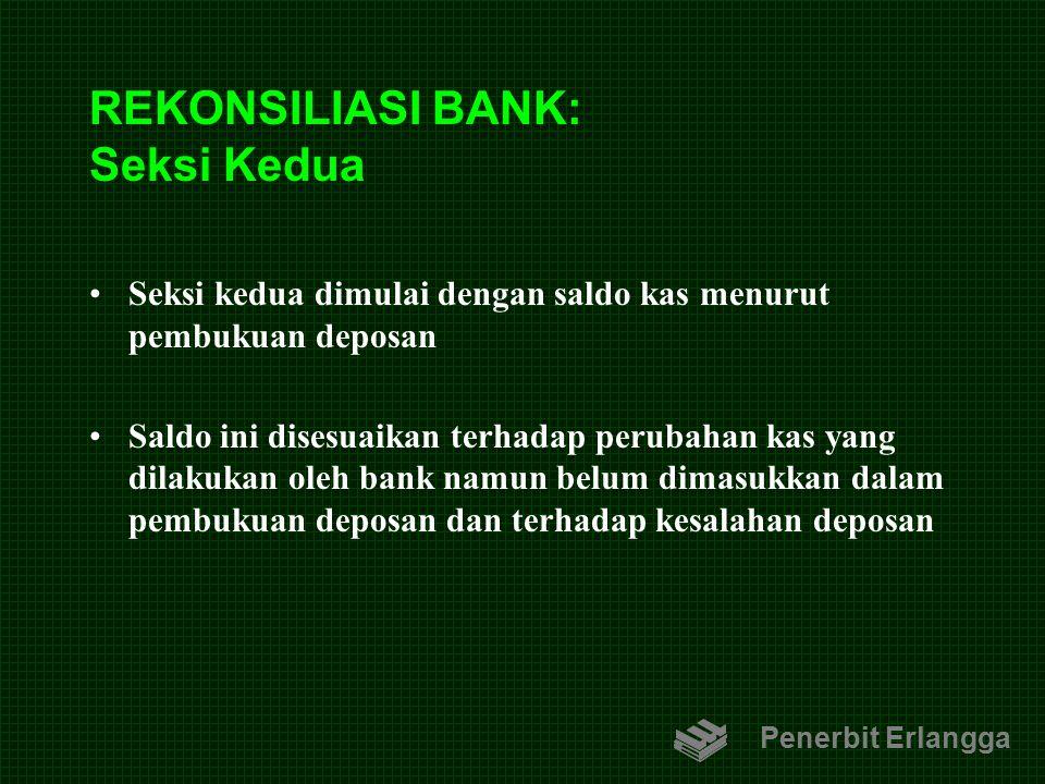 REKONSILIASI BANK: Seksi Kedua