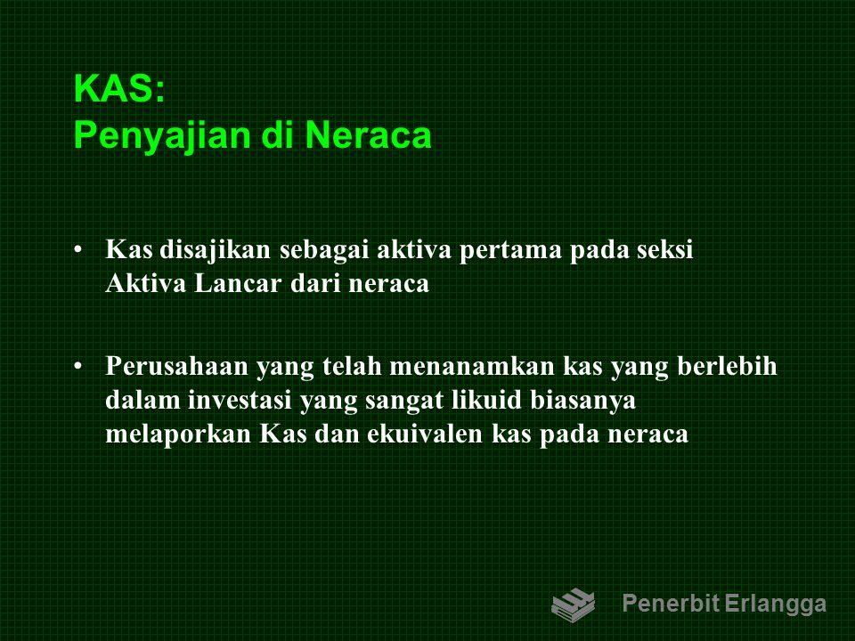 KAS: Penyajian di Neraca