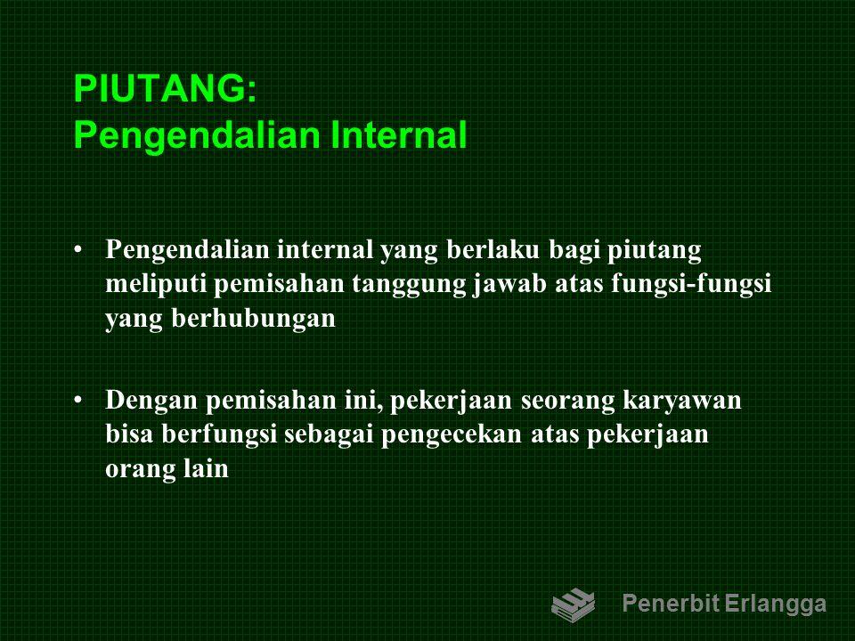 PIUTANG: Pengendalian Internal