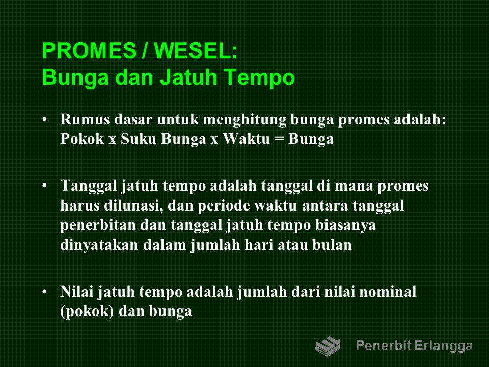 PROMES / WESEL: Bunga dan Jatuh Tempo