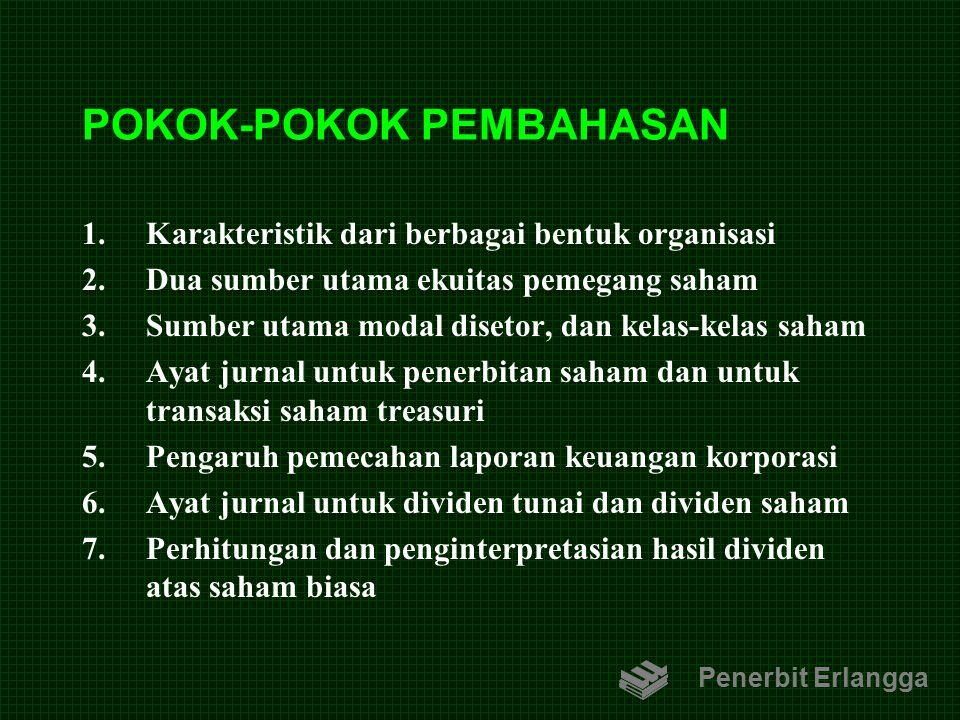 POKOK-POKOK PEMBAHASAN