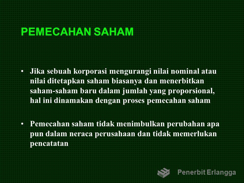 PEMECAHAN SAHAM