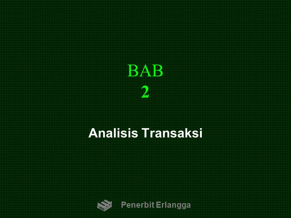 BAB 2 Analisis Transaksi Penerbit Erlangga