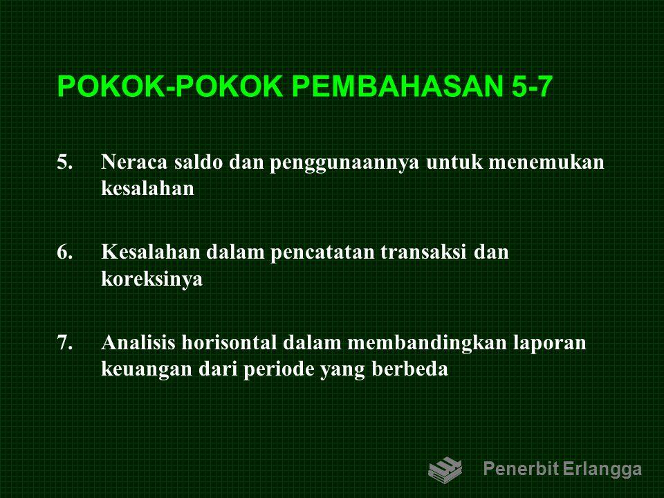 POKOK-POKOK PEMBAHASAN 5-7