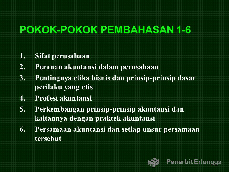POKOK-POKOK PEMBAHASAN 1-6