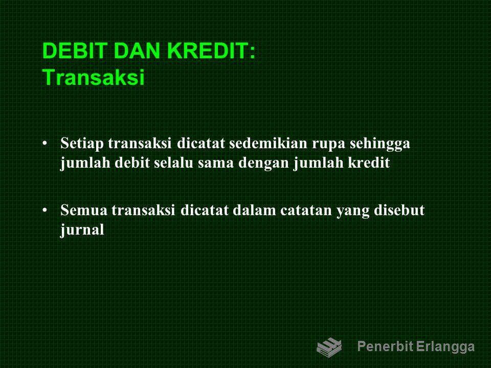 DEBIT DAN KREDIT: Transaksi