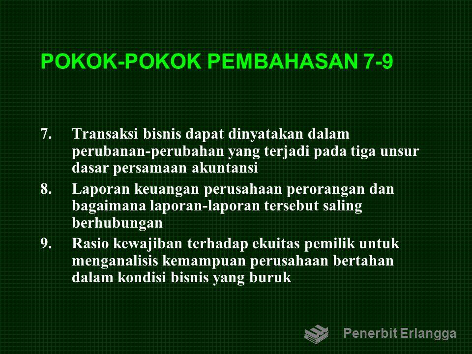 POKOK-POKOK PEMBAHASAN 7-9
