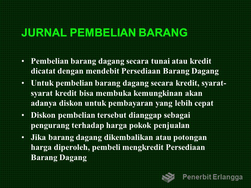 JURNAL PEMBELIAN BARANG