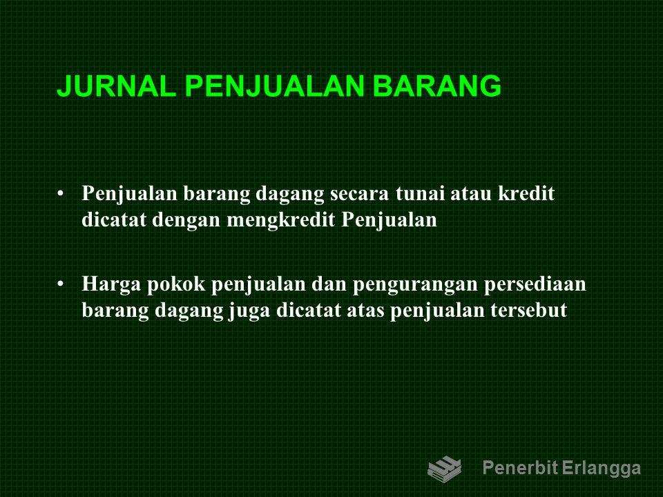 JURNAL PENJUALAN BARANG