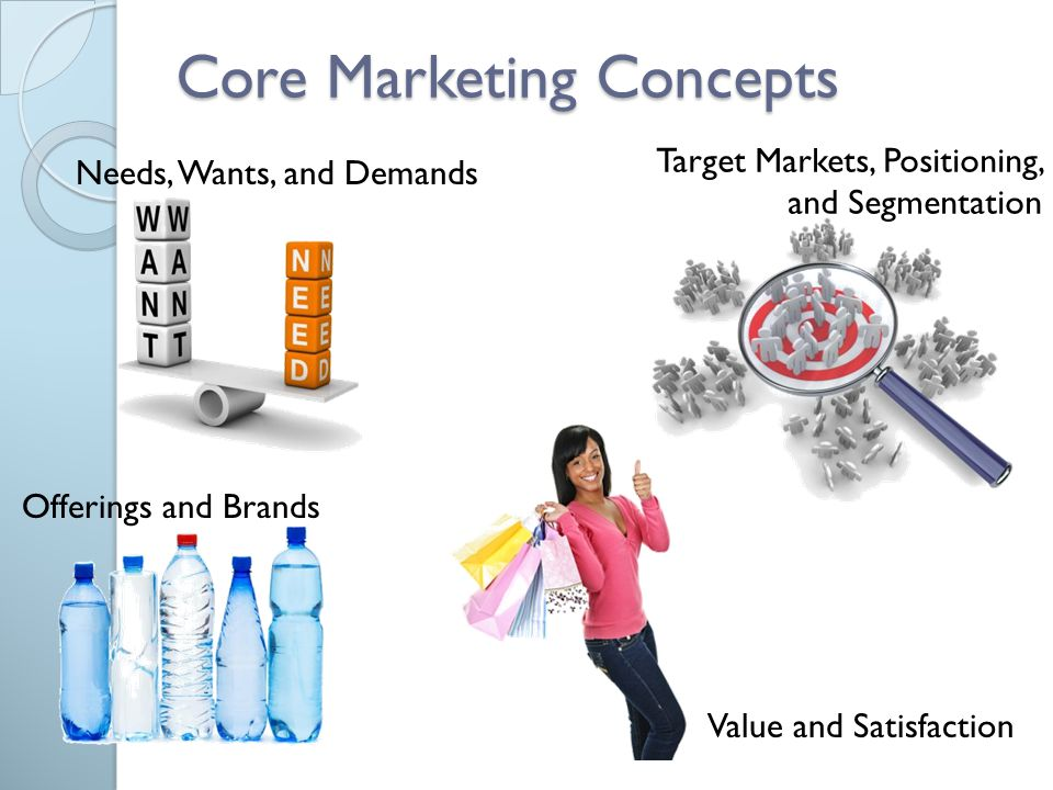 "value and satisfaction in marketing concept The concept of ""value"" has been of great interest in recent years  in this  process of creating customer value,  the reciprocal satisfaction of expectations,  with."