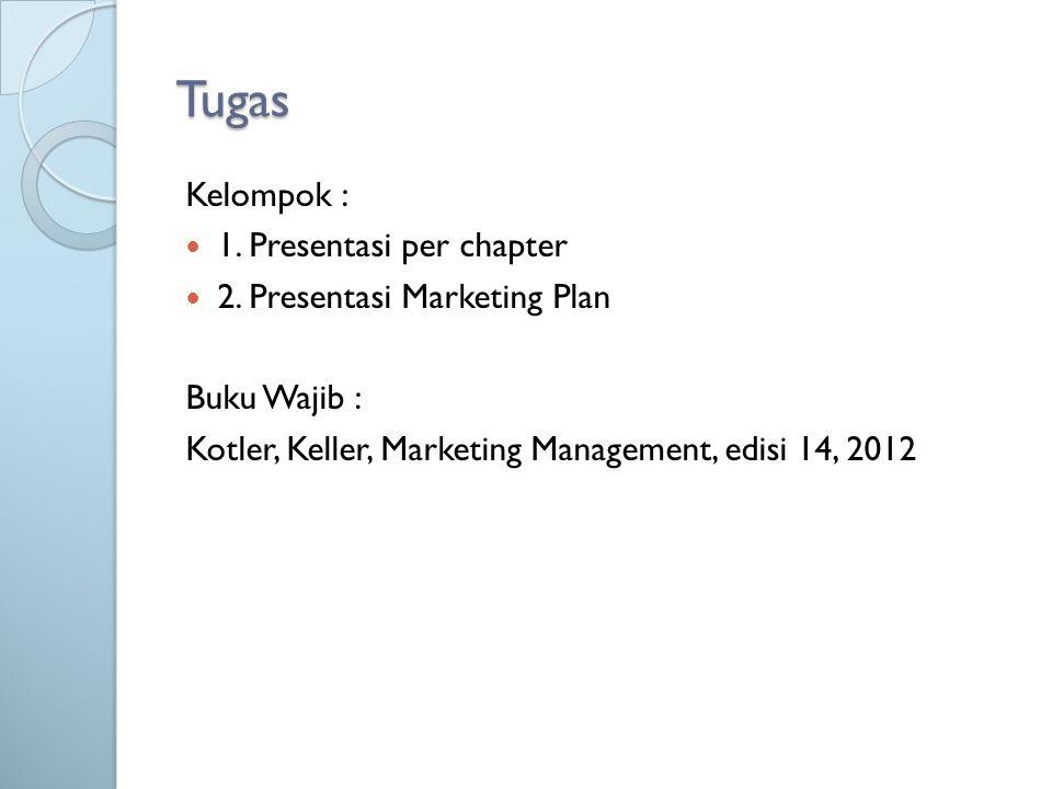 Tugas Kelompok : 1. Presentasi per chapter