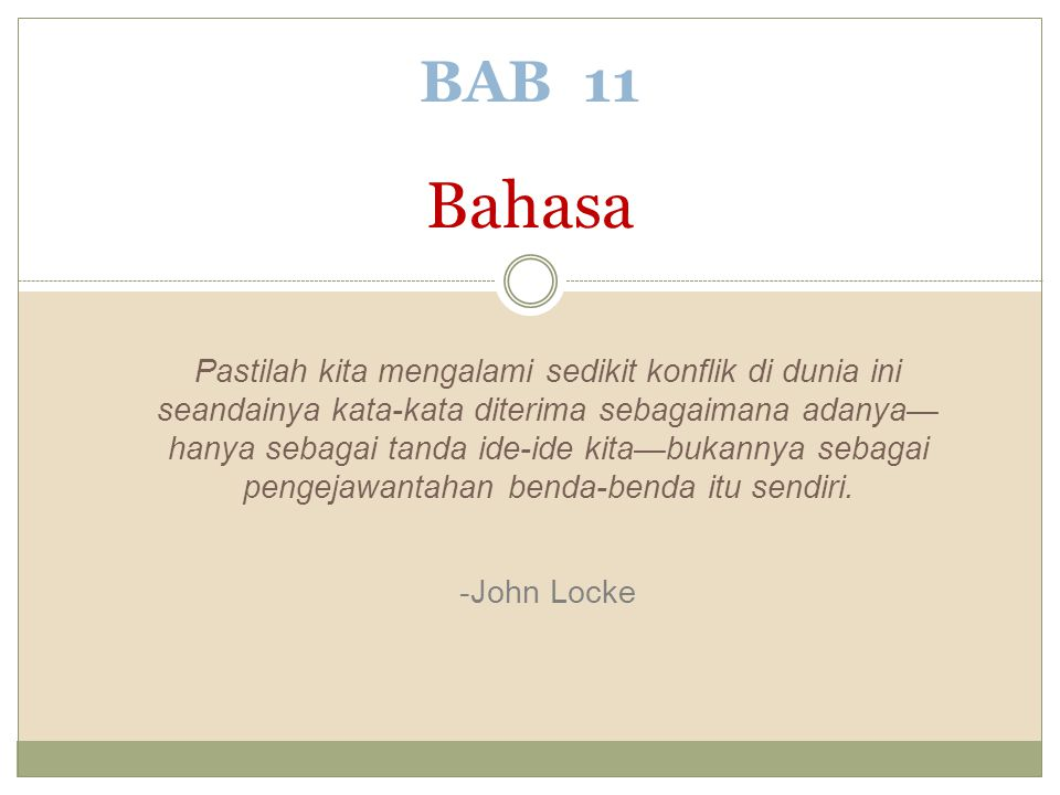 BAB 11 Bahasa