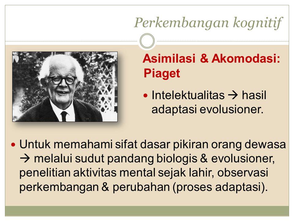 Perkembangan kognitif