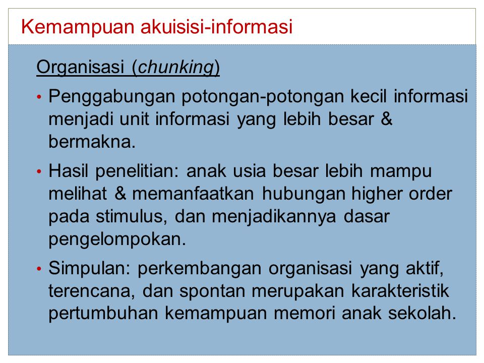 Kemampuan akuisisi-informasi
