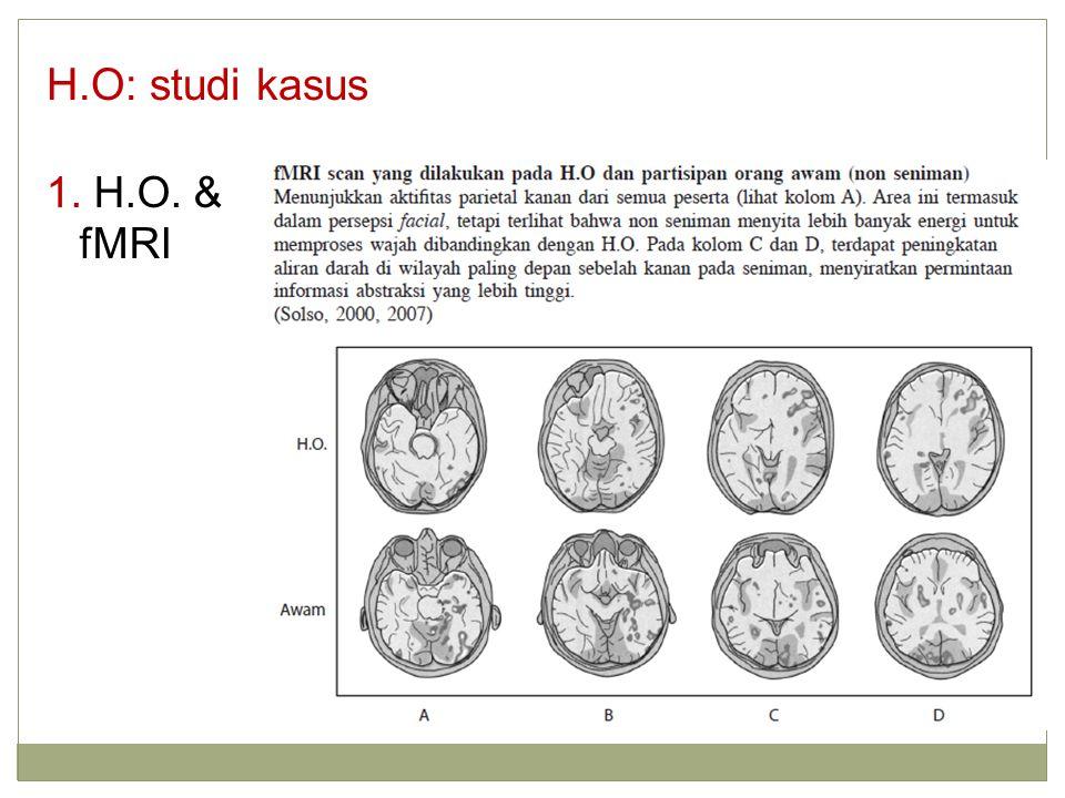 H.O: studi kasus 1. H.O. & fMRI