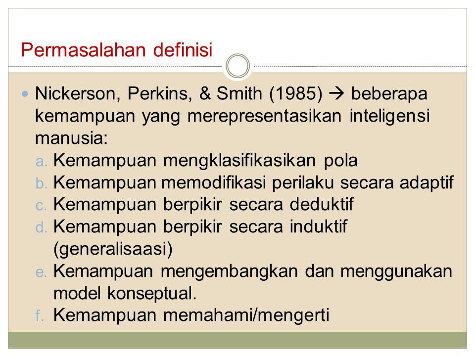 Permasalahan definisi